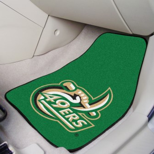 University of North Carolina - Charlotte 2-pc Carpet Car Mat Set