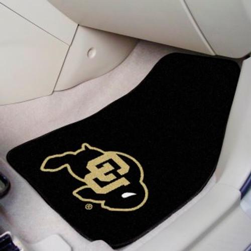 University of Colorado 2-pc Carpet Car Mat Set