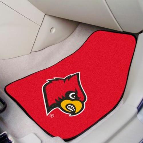 University of Louisville 2-pc Carpet Car Mat Set