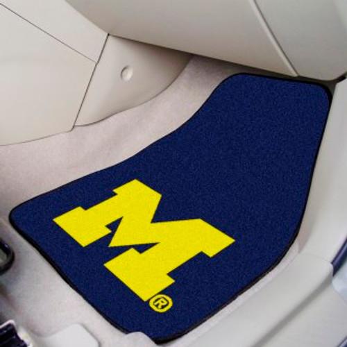 University of Michigan 2-pc Carpet Car Mat Set
