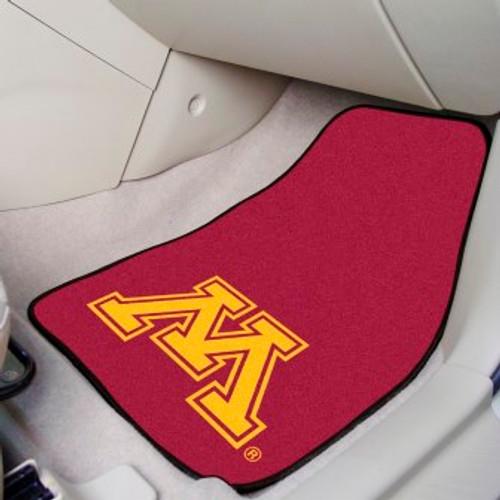 University of Minnesota 2-pc Carpet Car Mat Set