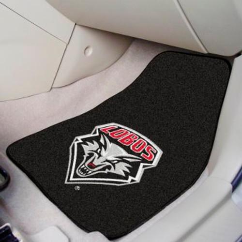 University of New Mexico 2-pc Carpet Car Mat Set