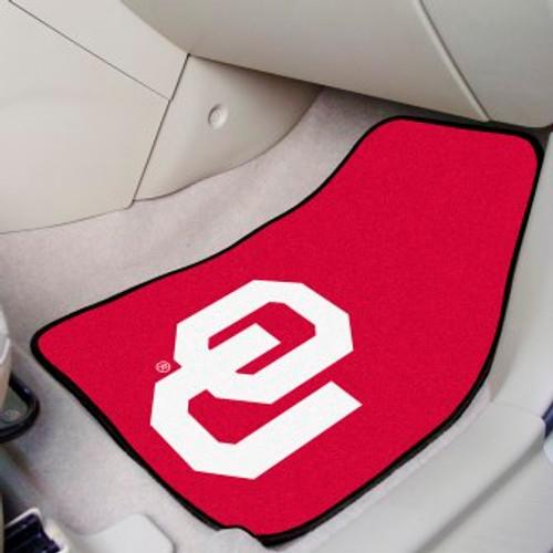 University of Oklahoma 2-pc Carpet Car Mat Set