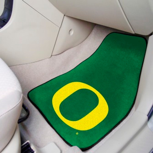 University of Oregon 2-pc Carpet Car Mat Set