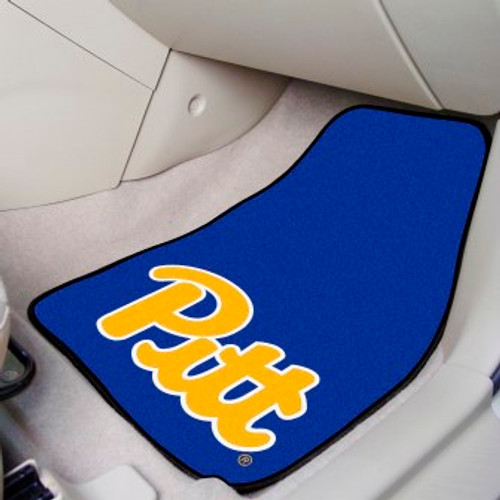 University of Pittsburgh 2-pc Carpet Car Mat Set