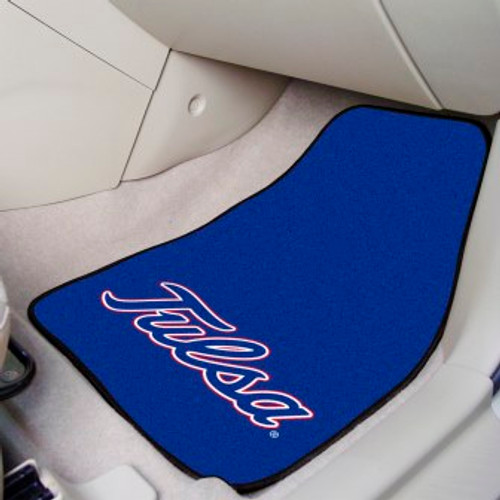 University of Tulsa 2-pc Carpet Car Mat Set