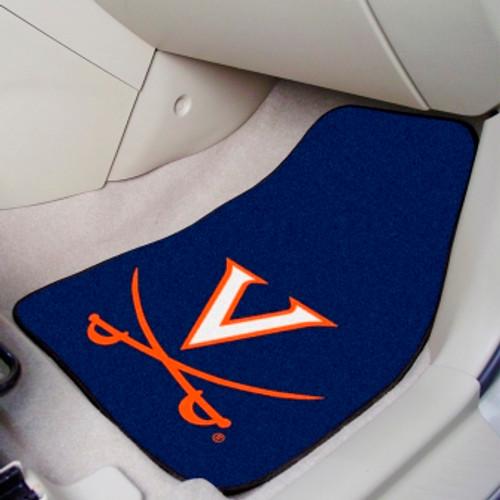 University of Virginia 2-pc Carpet Car Mat Set