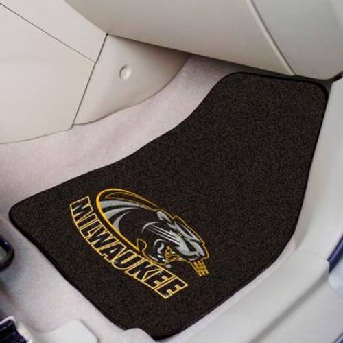 University of Wisconsin-Milwaukee 2-pc Carpet Car Mat Set