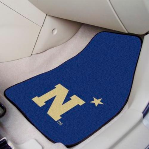 U.S. Naval Academy 2-pc Carpet Car Mat Set