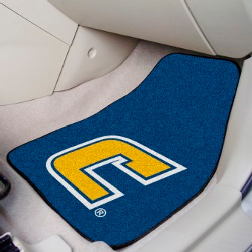 University Tennessee Chattanooga 2-pc Carpet Car Mat Set