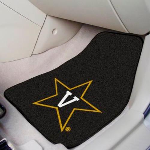 Vanderbilt University 2-pc Carpet Car Mat Set