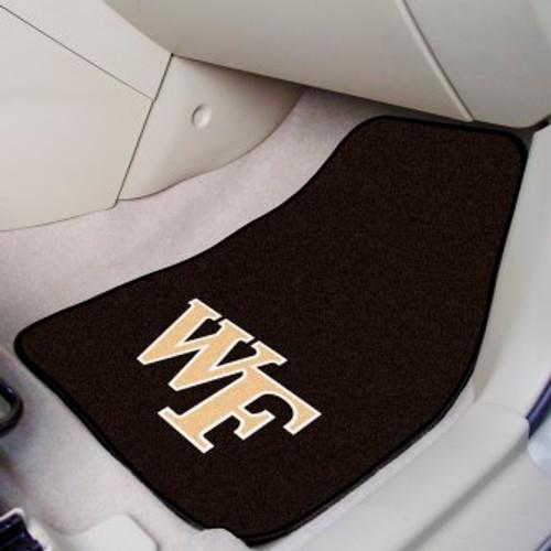 Wake Forest University 2-pc Carpet Car Mat Set