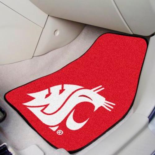 Washington State University 2-pc Carpet Car Mat Set