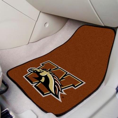 Western Michigan University 2-pc Carpet Car Mat Set