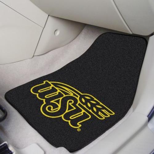 Wichita State University 2-pc Carpet Car Mat Set