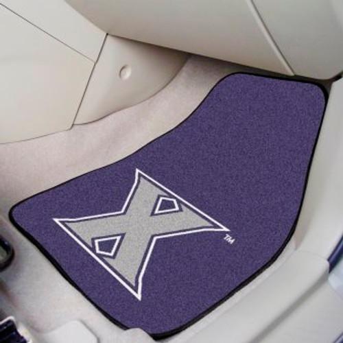 Xavier University 2-pc Carpet Car Mat Set