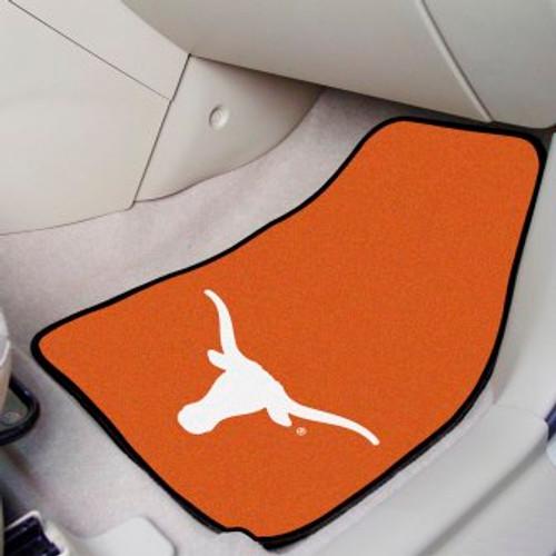 University of Texas 2-pc Carpet Car Mat Set