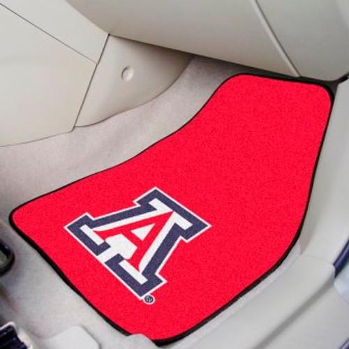 University of Arizona 2-pc Carpet Car Mat Set