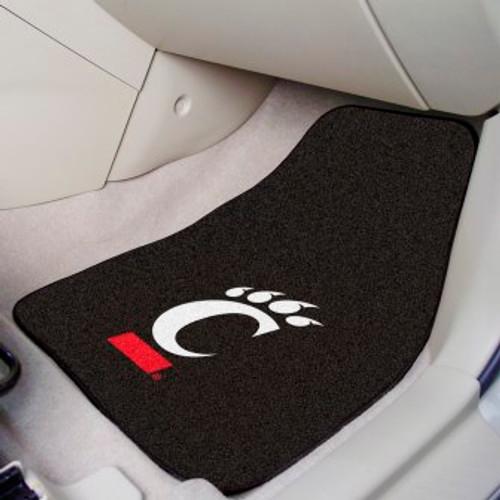 University of Cincinnati 2-pc Carpet Car Mat Set