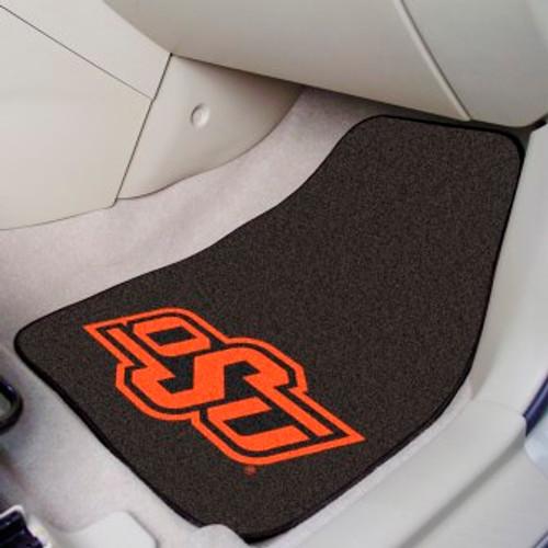 Oklahoma State University 2-pc Carpet Car Mat Set