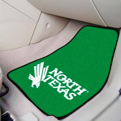 University of North Texas 2-pc Carpet Car Mat Set