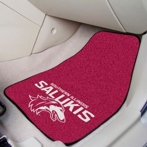 Southern Illinois University 2-pc Carpet Car Mat Set