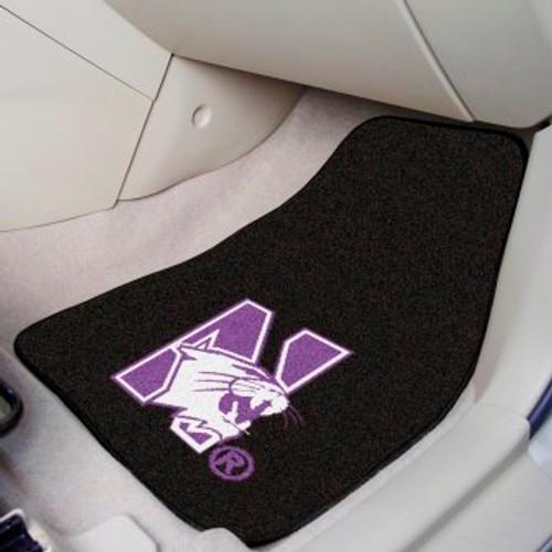 Northwestern University 2-pc Carpet Car Mat Set