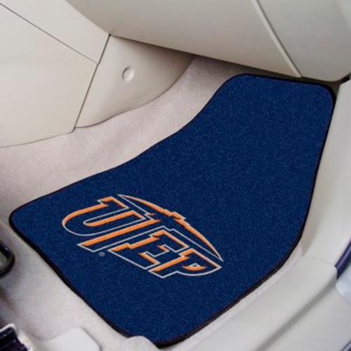 University of Texas - El Paso (UTEP) 2-pc Carpet Car Mat Set