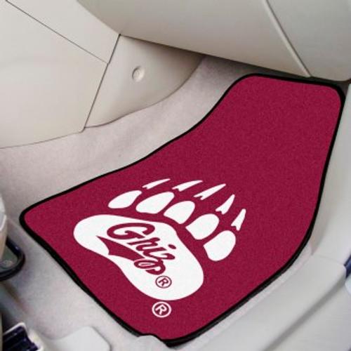 University of Montana 2-pc Carpet Car Mat Set