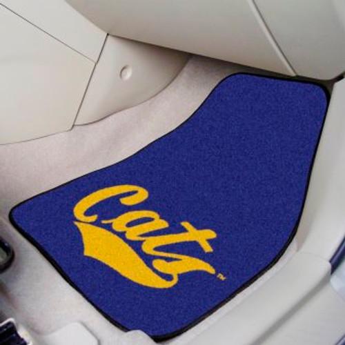 Montana State University 2-pc Carpet Car Mat Set