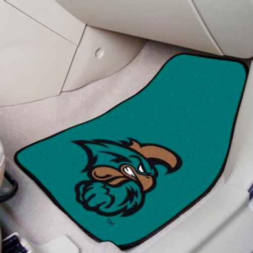 Coastal Carolina University 2-pc Carpet Car Mat Set
