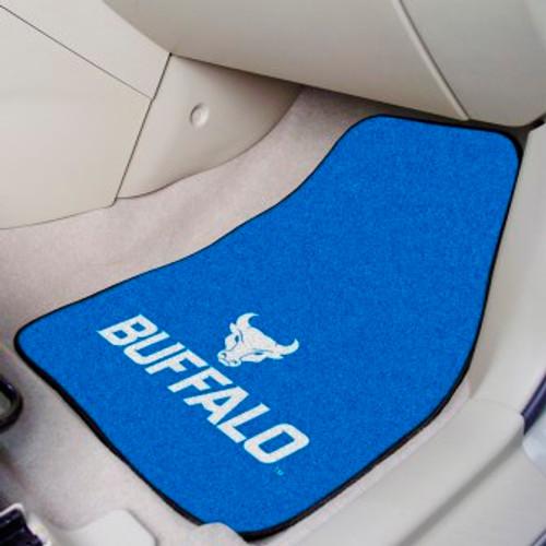 State University of New York at Buffalo 2-pc Carpet Car Mat Set