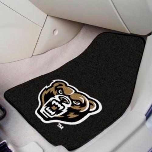 Oakland University 2-pc Carpet Car Mat Set