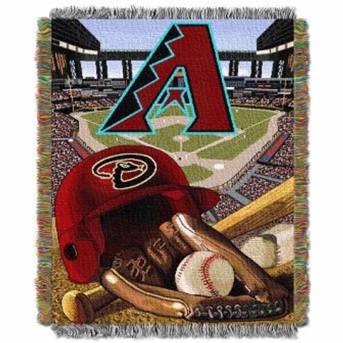 Arizona Diamondbacks Home Field Advantage Woven Tapestry Throw Blanket