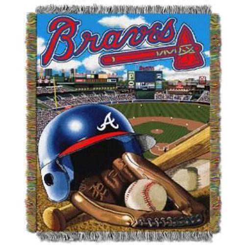 Atlanta Braves Home Field Advantage Woven Tapestry Throw