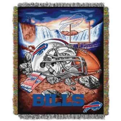 Buffalo Bills Home Field Advantage Woven Tapestry Throw Blanket