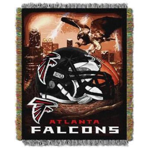 Atlanta Falcons Home Field Advantage Woven Tapestry Throw Blanket