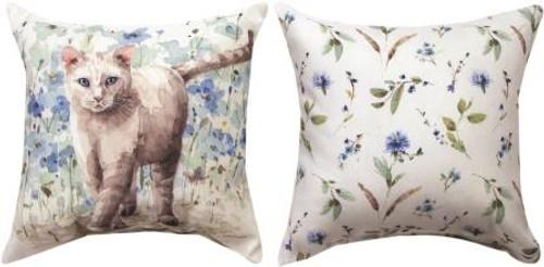 Bohemian Blue 12x12 Climaweave Pillow