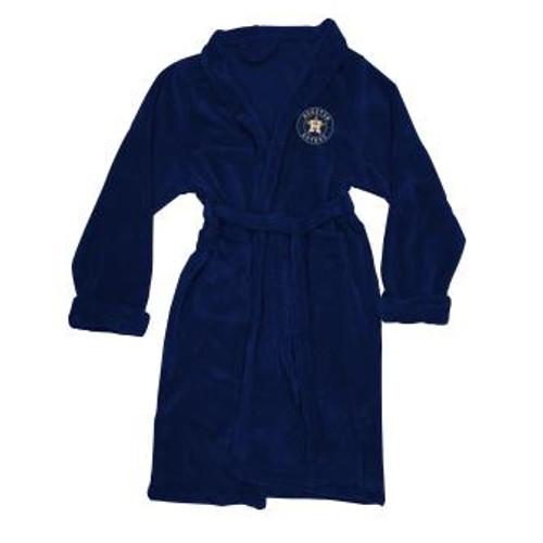 Boston Red Sox Mens Silk Touch Navy Bath Robe