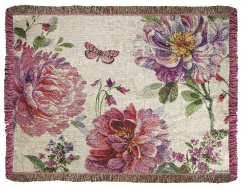 Obviously Pink Mini Tapestry Throw