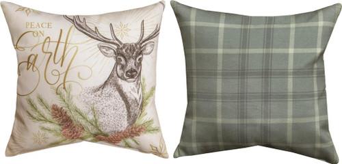 Winter Pine 12 x 12 Pillow