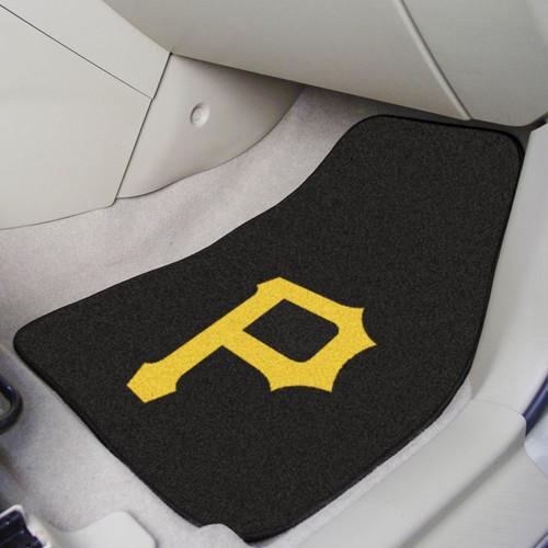 Pittsburgh Pirates 2-pc Carpet Car Mat Set