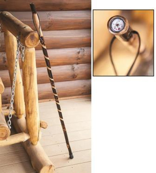 Take a Hike Burnout Walking Stick Set of 4
