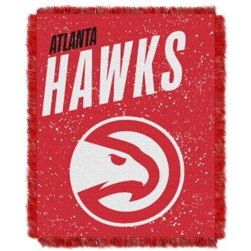 Atlanta Hawks Headliner Woven Tapestry Throw Blanket