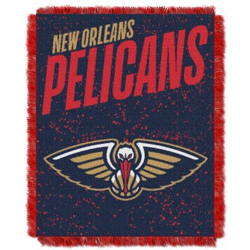 New Orleans Pelicans Headliner Woven Tapestry Throw Blanket