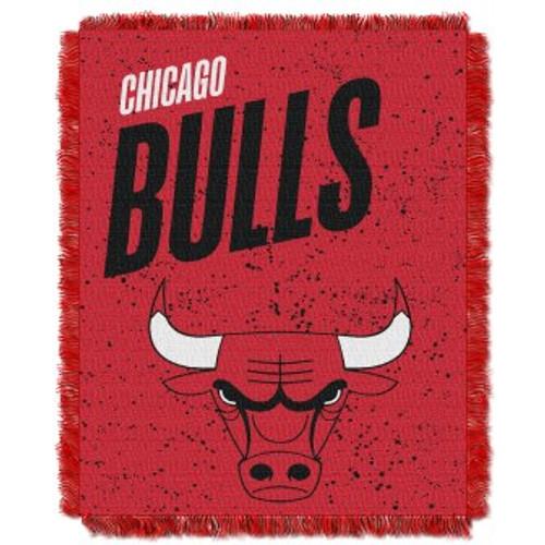 Chicago Bulls Headliner Woven Tapestry Throw Blanket