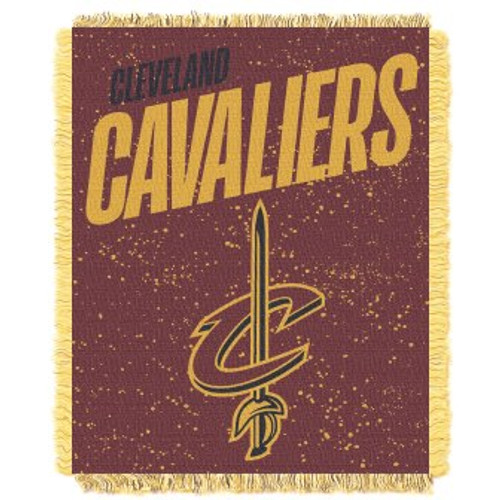 Cleveland Cavaliers Headliner Woven Tapestry Throw Blanket