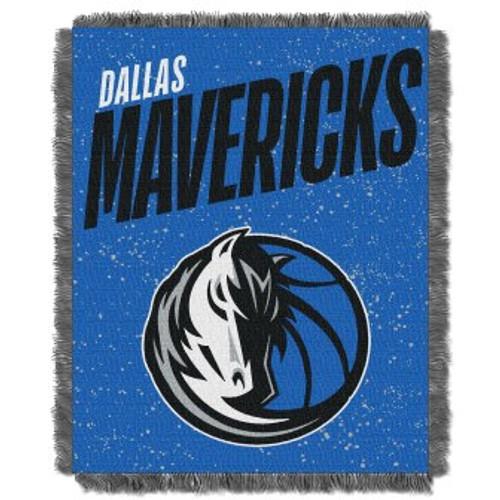 Dallas Mavericks Headliner Woven Tapestry Throw Blanket