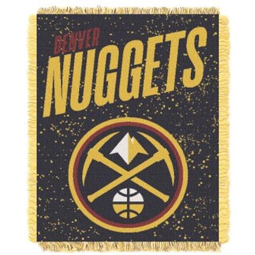 Denver Nuggets Headliner Woven Tapestry Throw Blanket