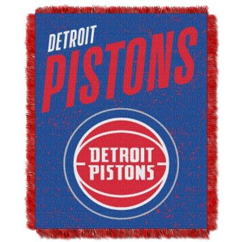 Detroit Pistons Headliner Woven Tapestry Throw Blanket